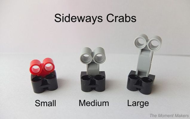 sideways crabs